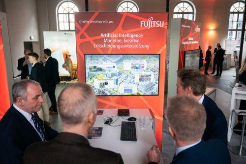 Ausstellung bei der Jahreskonfernez Digitale Verwaltung 2019