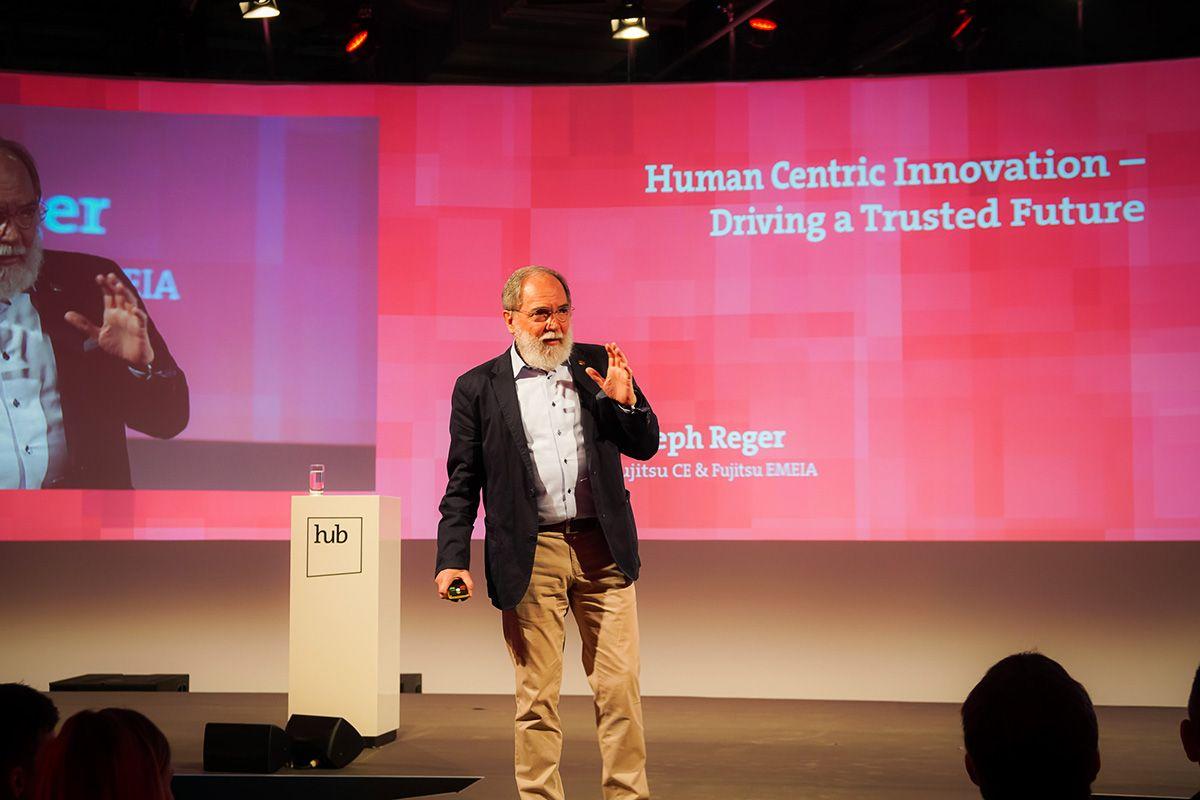 Dr. Joseph Reger bei der hub.berlin