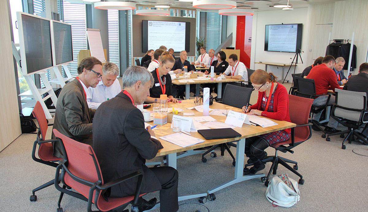 Workshop im Digital Transformation Center (DTC) in München