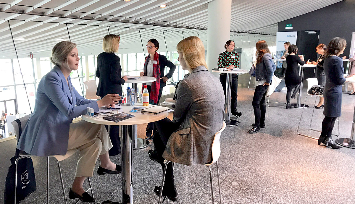 Speed Dating mal anders: Speed Mentoring auf der women&work