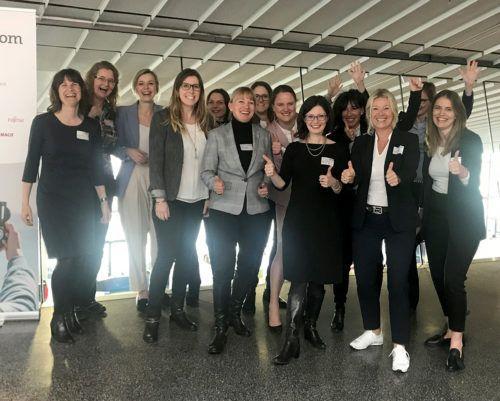 Die Mentorinnen des Speed Mentorings auf der women&work
