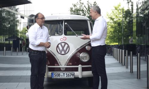 Mit dem VW T1 in die Digitalisierung