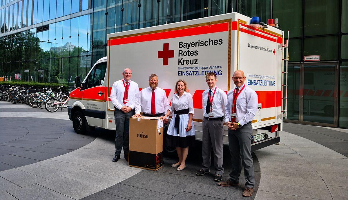 Ein Server für das BRK: wie die Digitalisierung Menschenleben retten kann