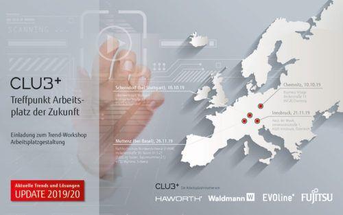 CLU3+ - Treffpunkt Arbeitsplatz der Zukunft i