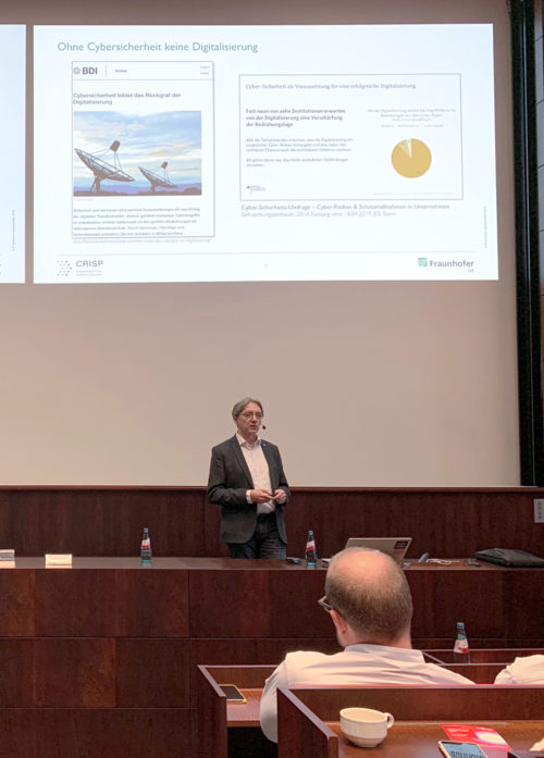 Vortrag Prof. Dr. Michael Waidner