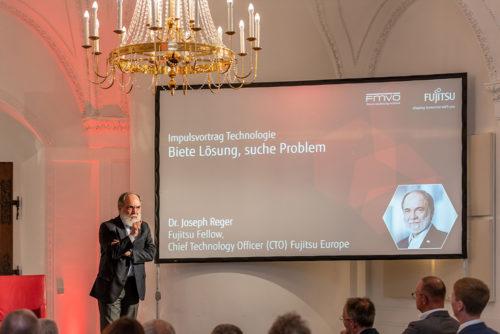 Dr. Joseph Reger auf dem Financial Forum 2019