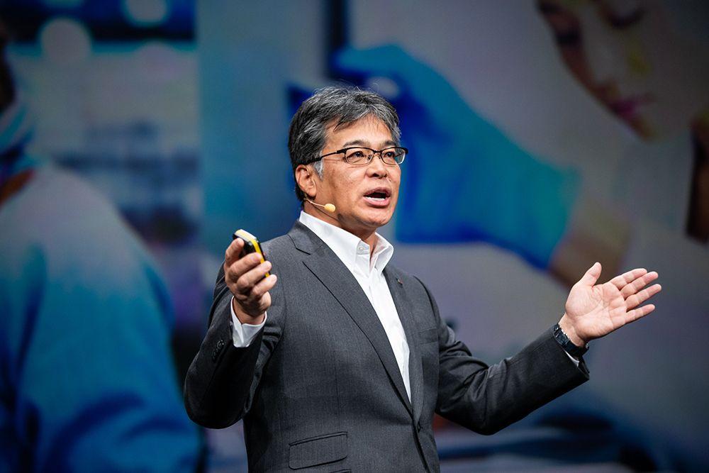Takahito Tokita, Präsident von Fujitsu