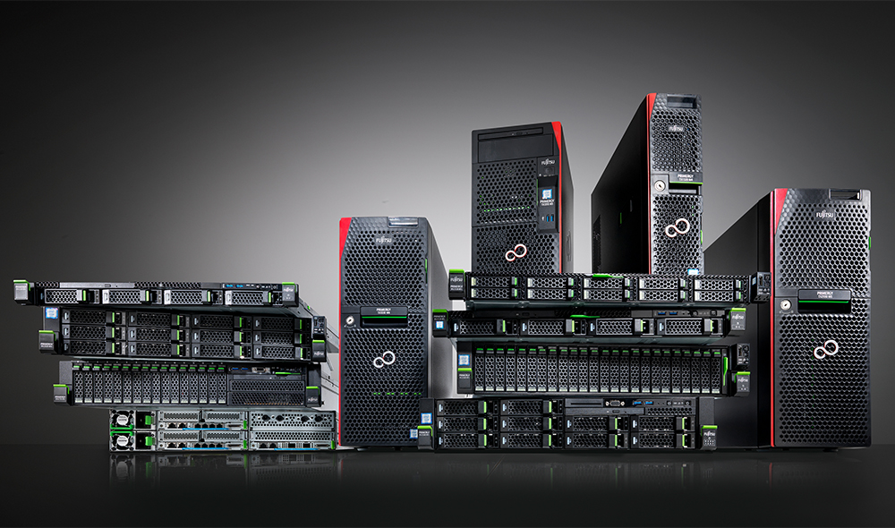 Software Defined Storage wird hierbei auf Basis von FUJITSU Server PRIMERGY