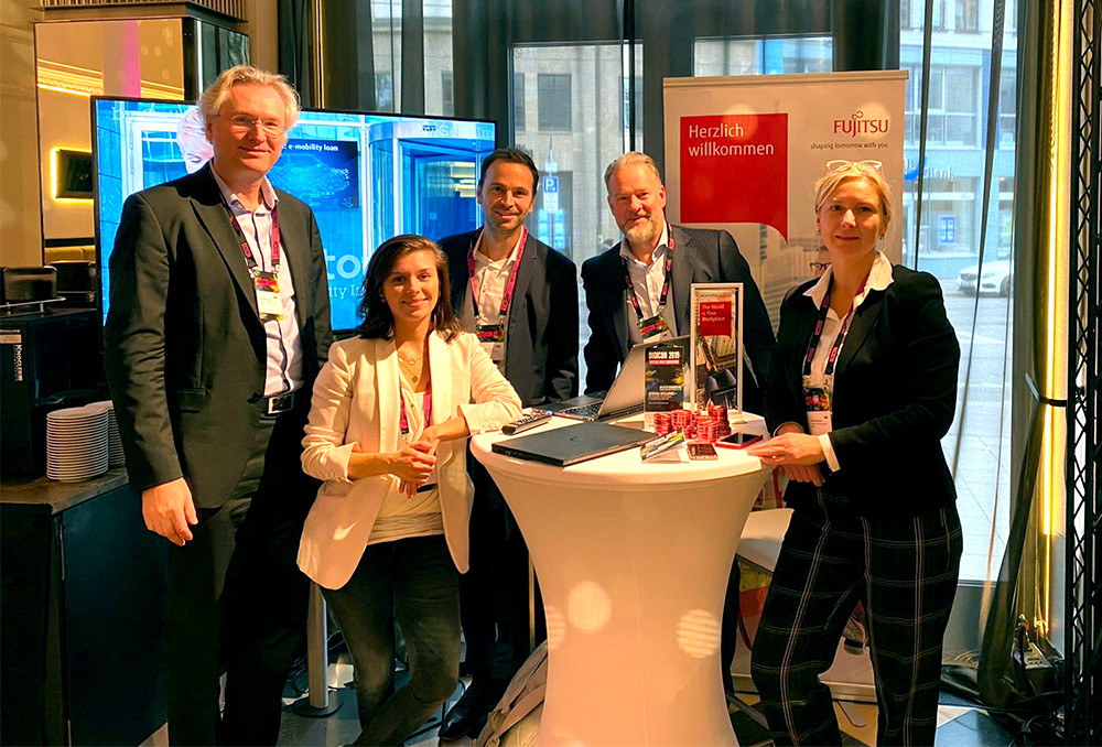 Das Team von Fujitsu auf der DIGICON