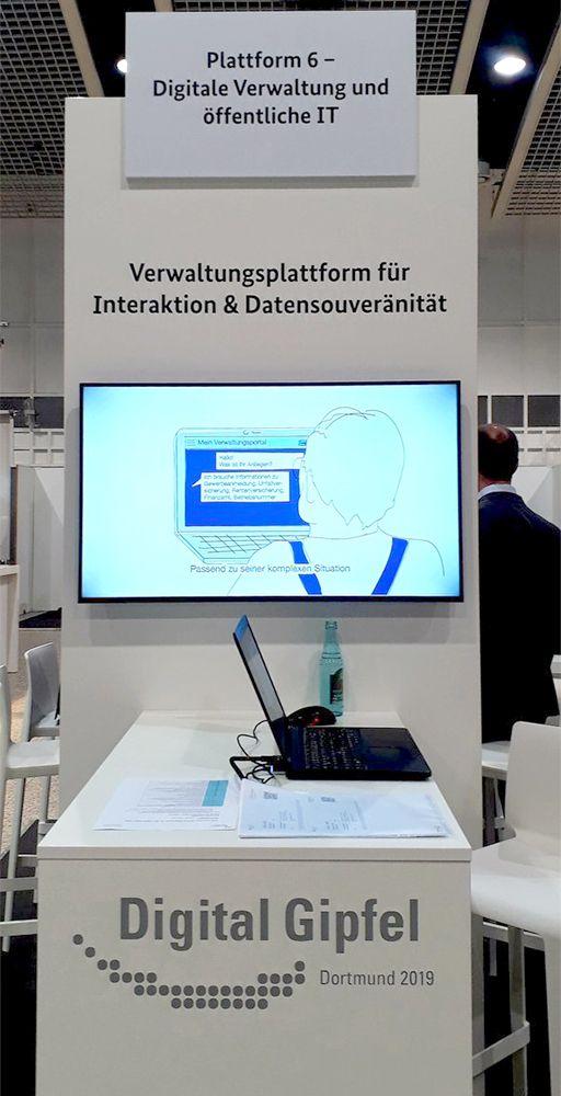 """Plattform 6 """"Digitale Verwaltung und öffentliche IT"""""""