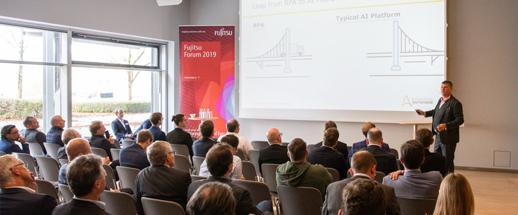 Robotic Process Automation auf dem Fujitsu Forum 2019