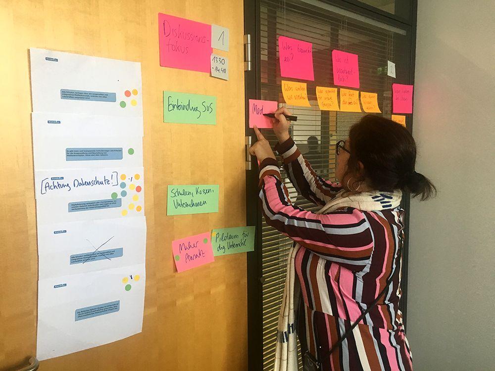 Workshop zum DigitalPakt des Bundes