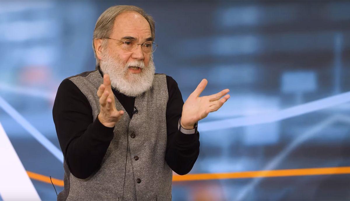 Dr. Joseph Reger bei der Jahrestagung Bankentechnologie