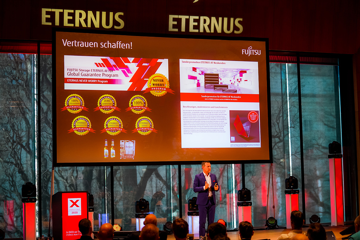 Fujitsu Storage Days 2020 - Vortrag zum ETERNUS NEVER WORRY-Programm