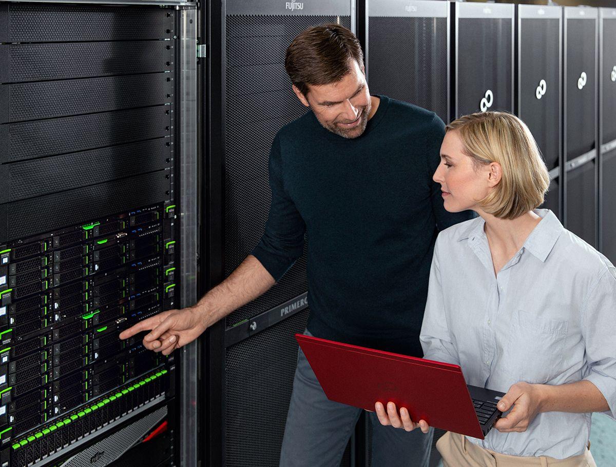 Zugriffszeiten im Data Center