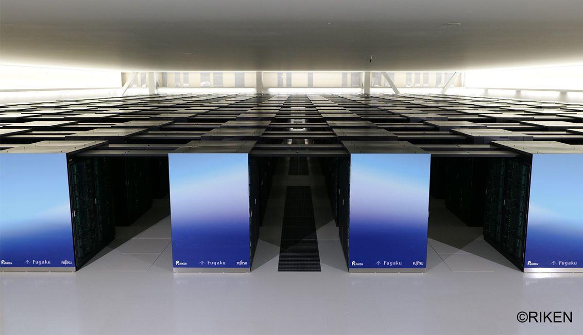 Fugaku: der aktuell weltweit leistungsstärkste Supercomputer, gemeinsam entwickelt von Riken und Fujitsu