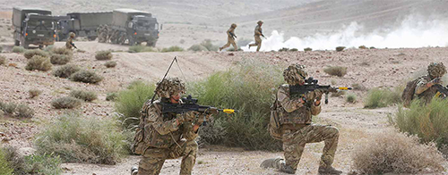 Digitale Informationen beim Militär in den Mittelpunkt stellen