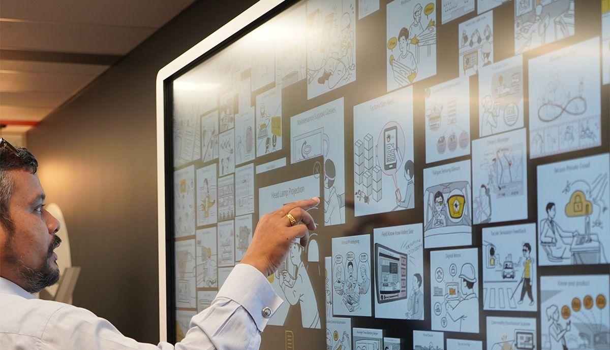 Digitale Erlebnisse gestalten – dank der Fujitsu UX-Workshops