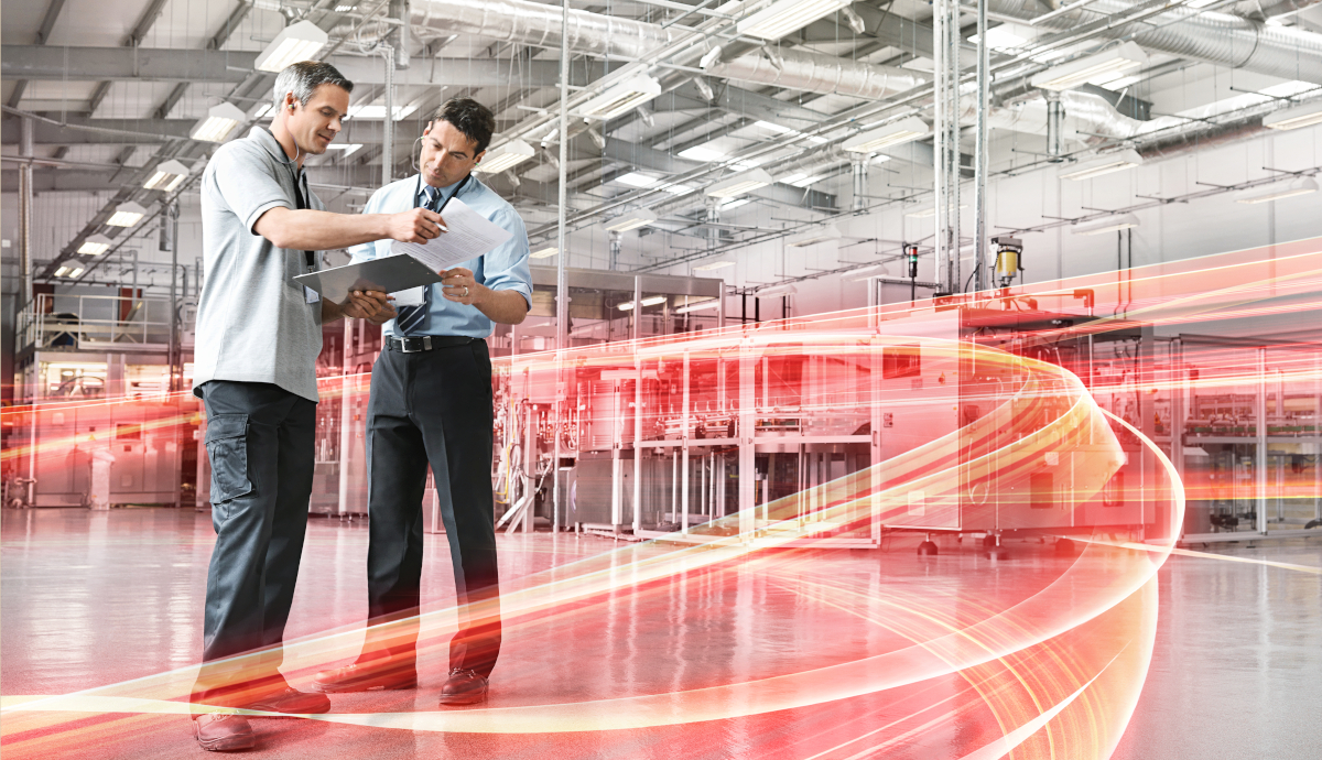 Vom Lean Manufacturing zur Smart Factory - Header