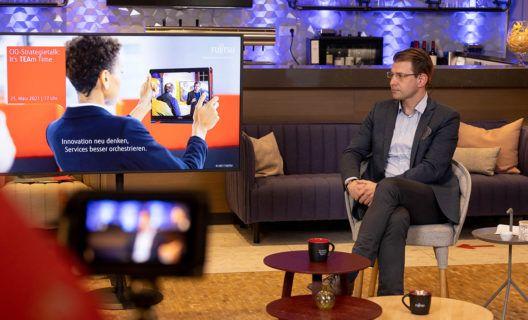 Auf einen Tee mit Fujitsu: Innovation neu denken, Services besser orchestrieren