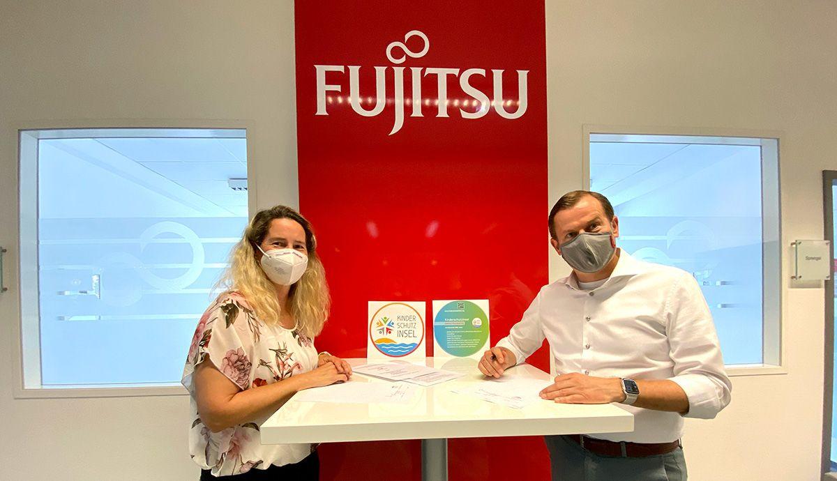 Fujitsu Laatzen ist jetzt Kinderschutzinsel